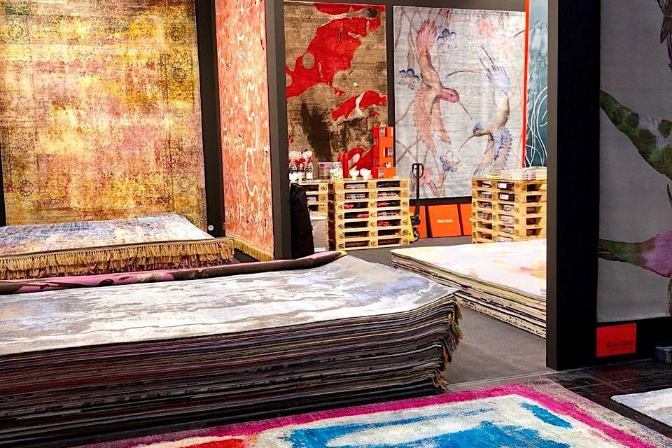 Vrijdag, dus tijd voor een mooi tapijt