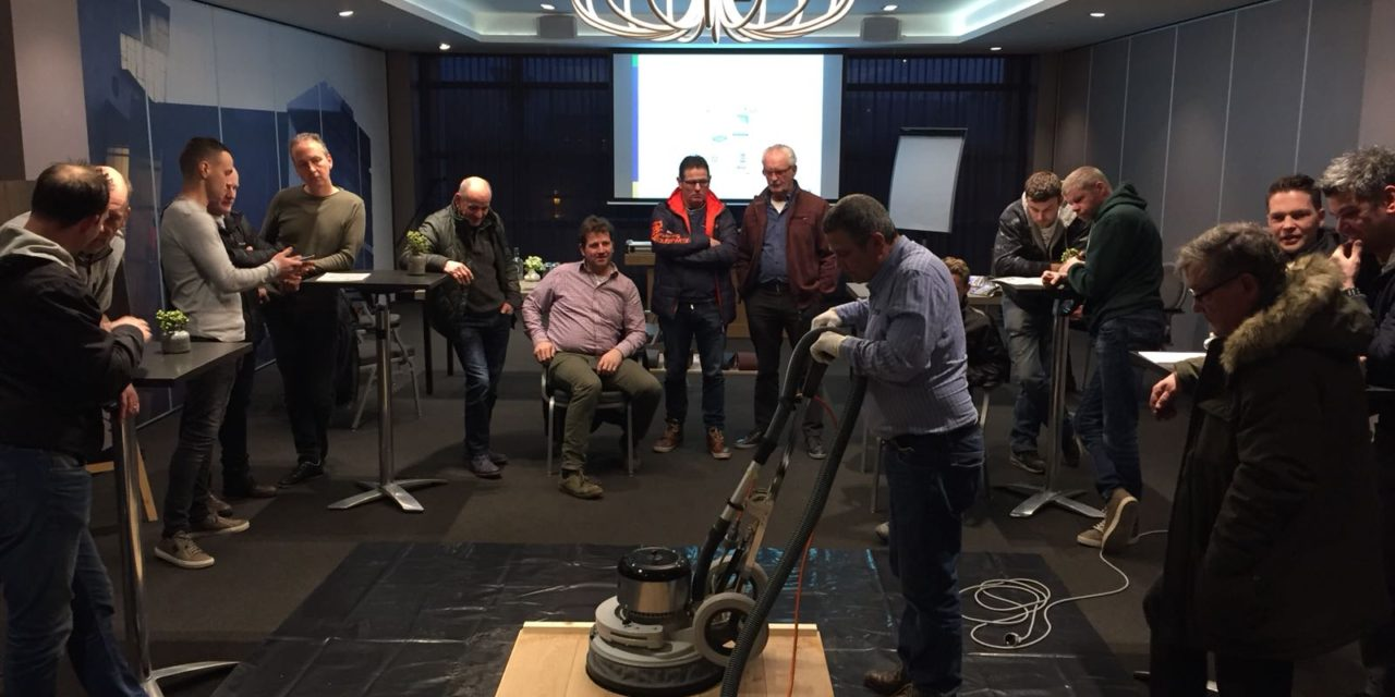 Druk bezochte productpresentatie Bona in Eindhoven