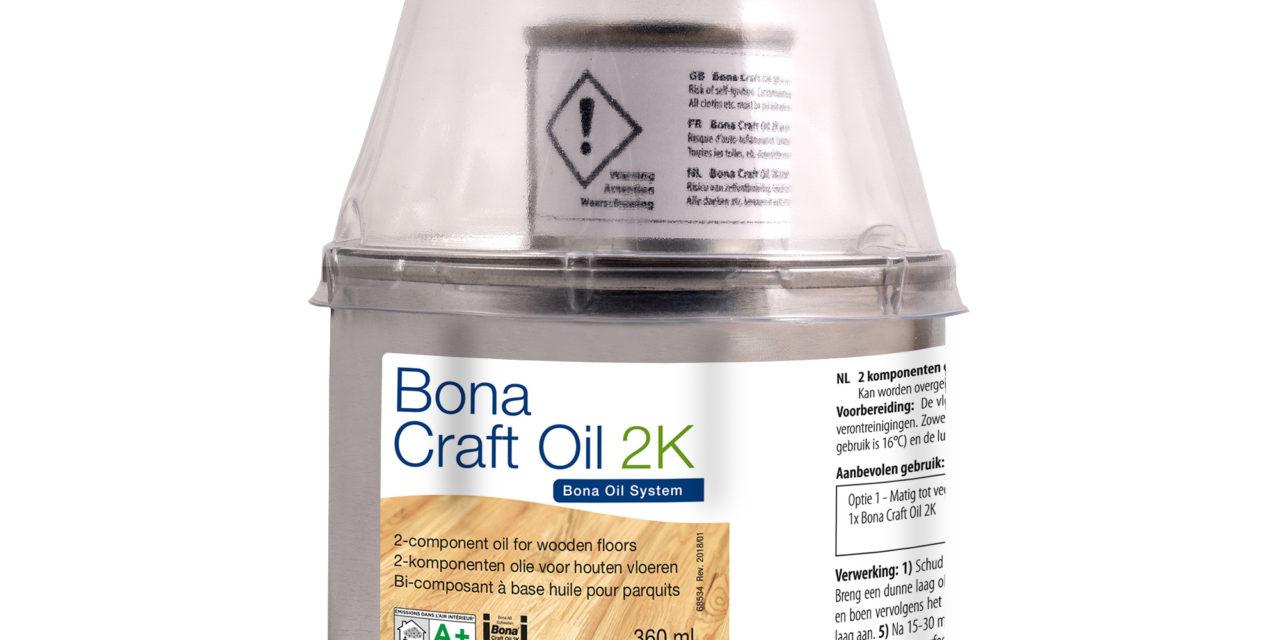 Bona Craft Oil 2K nu ook verkrijgbaar in 400 ml