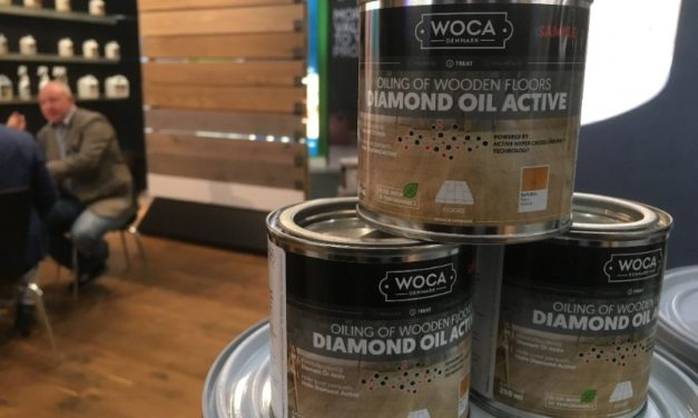 WOCA Nederland introduceert Diamond Oil Active