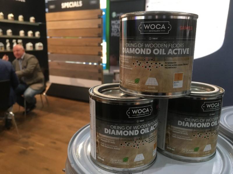 WOCA Nederland introduceert Diamond Oil Active