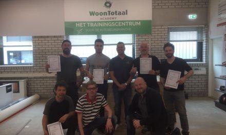 Eerste lichting traprenovators ontvangt diploma