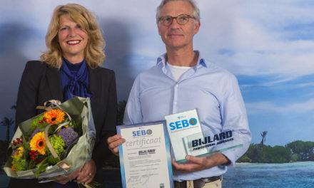 Bijlard International ontvangt SEBO keurmerk