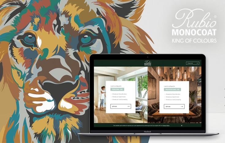 Rubio Monocoat onthult online kleurenconfigurator