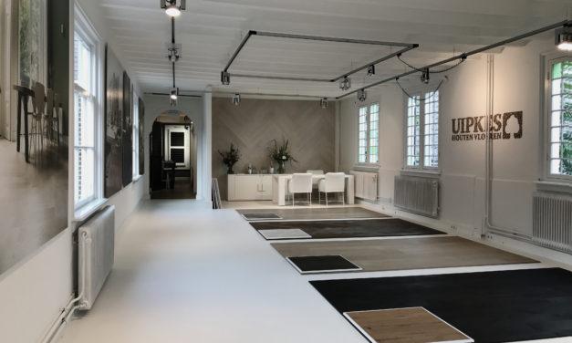 Uipkes Houten Vloeren: nieuwe showroom in Het Arsenaal