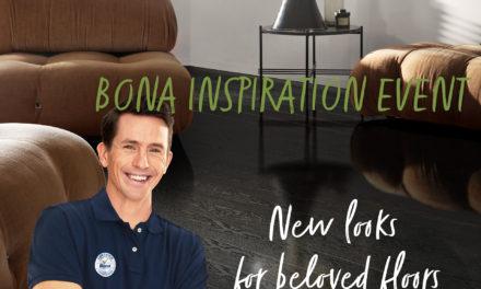 Bona on tour in november met nieuwe producten