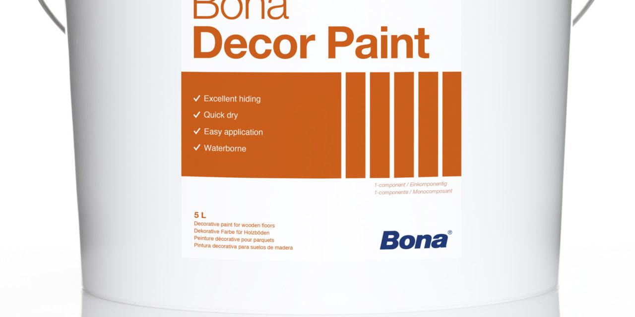 Nieuwe watergedragen vloerverf van Bona