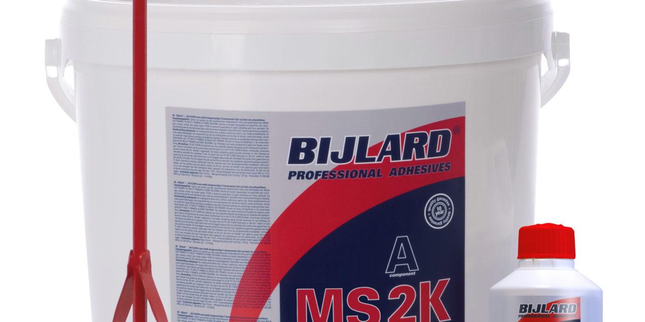 Bijlard International introduceert MS 2K FLOOR op Domotex 2019