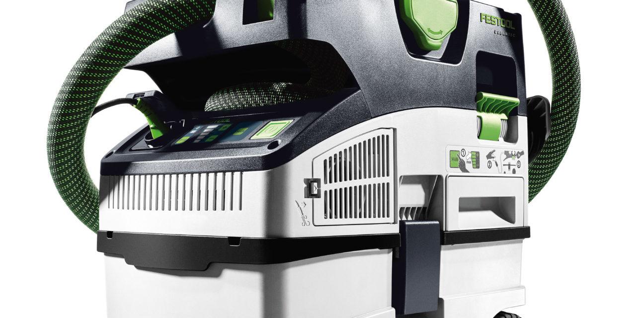 Nieuwe compacte stofzuigers CT MINI en CT MIDI van Festool