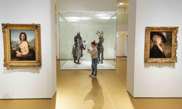 Gouden Marmoleumvloer in de Hermitage