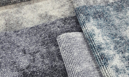 Gezien op Material District: circulair tapijt van Donkersloot