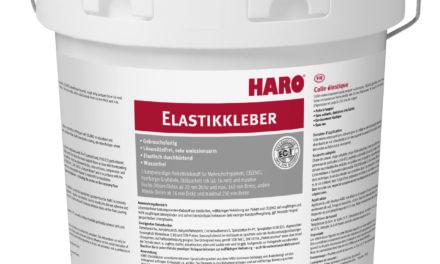 HARO brengt elastische lijm op de markt