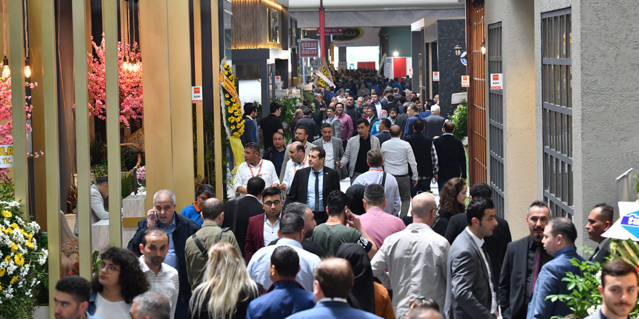 Domotex Turkey 2019 trekt 20 procent meer bezoekers