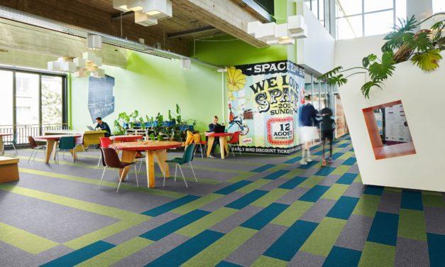 Flotex Colour biedt een waterval aan kleuren