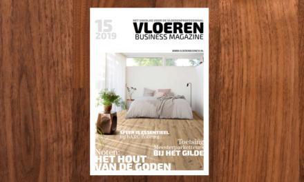 Nieuwe Vloeren Business Magazine deze week op de mat