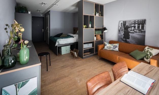 Forbo Flooring in huurproject voor jongeren