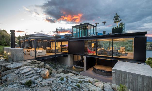 HARO in een mooi huis in Nieuw Zeeland