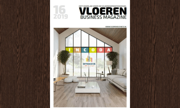De nieuwe Vloeren Business Magazine 16 inclusief Incoda special