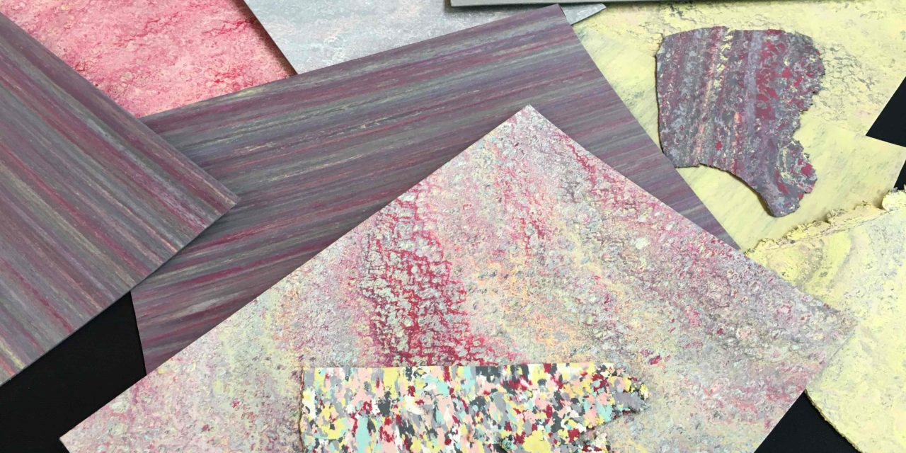 Zelf een vloer maken tijdens de Forbo Labdag