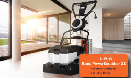 Bona Powerscrubber is vernieuwd