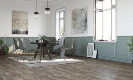 Moduleo LayRed is een technisch innovatieve en esthetisch aantrekkelijke vinylvloer De vloer als sfeerbepaler van het interieur