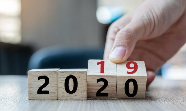 De beste wensen voor 2020!