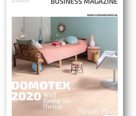 De nieuwe Vloeren Business Magazine ontvangt u deze week!
