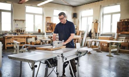 Nieuwe tafelcirkelzaag van Festool spaart de vingers