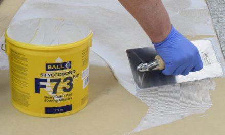 Nieuw van F. Ball: Stycobond F73 PLUS