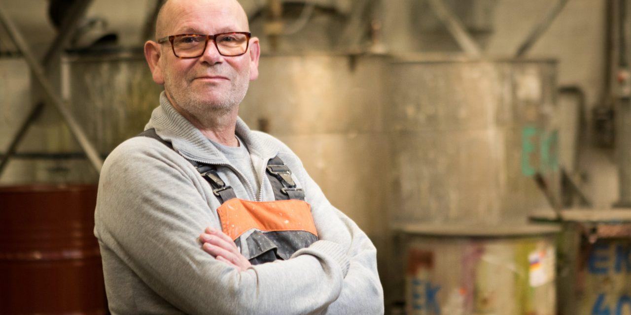 Theo Bieman (RIGO) met persioen