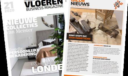 Mediakaart Vloeren Business Magazine 2021 beschikbaar