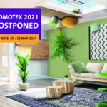 Domotex 2021 verplaatst naar 20-22 mei