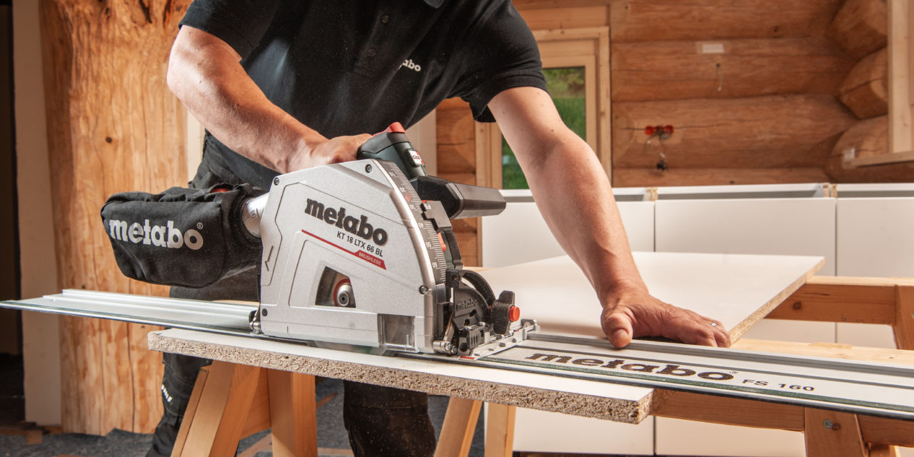 De nieuwe 18 volt invalcirkelzaag van Metabo