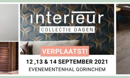 Interieur Collectie Dagen verplaatst naar september 2021