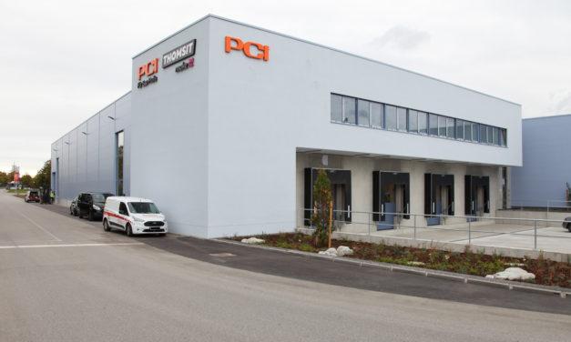 PCI opent nieuw ultramodern distributiecentrum in Augsburg