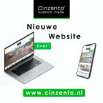 Nieuwe website Cinzento Custom Made