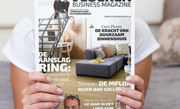 Nieuwste editie Vloeren Business Magazine onderweg naar onze abonnees!
