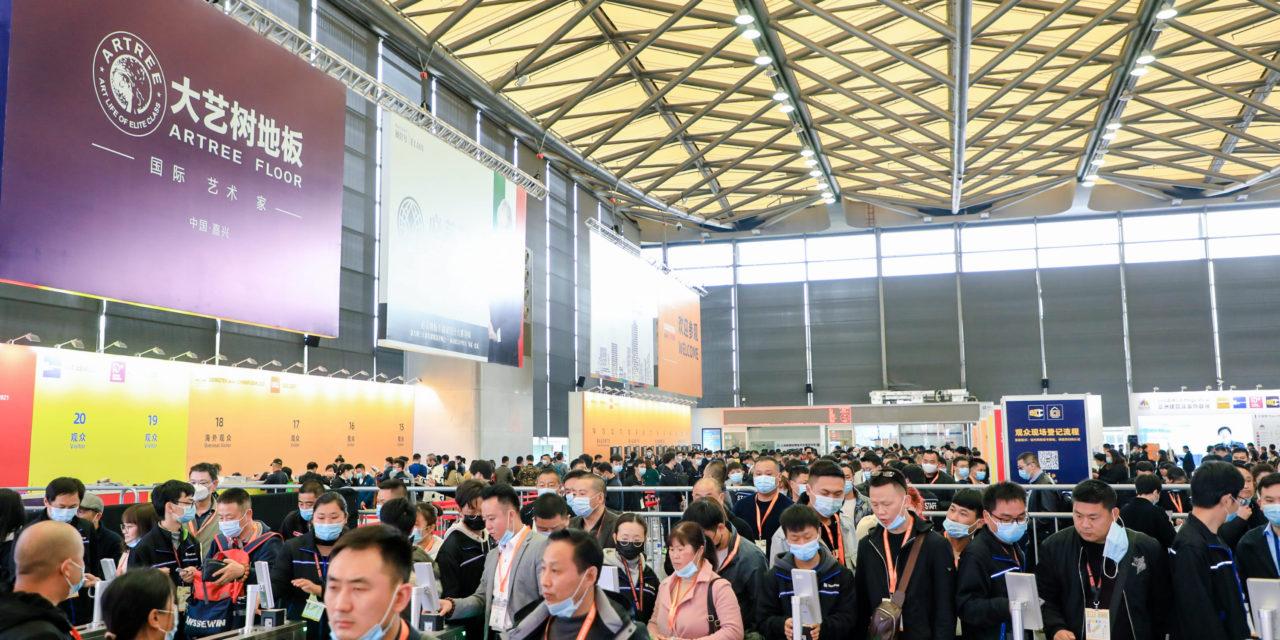 DOMOTEX asia/ CHINAFLOOR 2021 succesvol verlopen