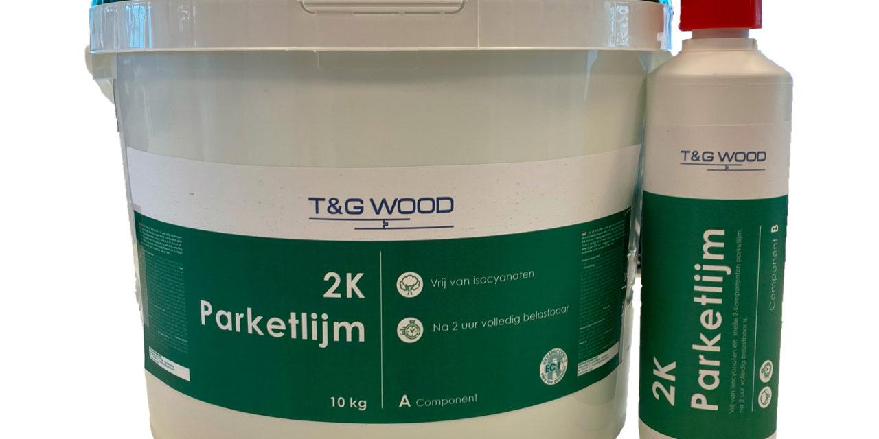 Nieuwe 2k parketlijm van T&G Wood