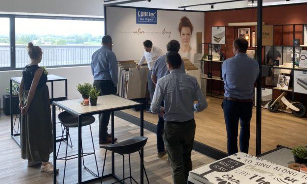 YEPP bezoekt het nieuwe hoofdkwartier van US Floors-COREtec