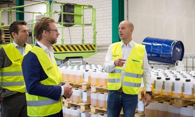 Wethouder van Dordrecht bezoekt Quartzline BV