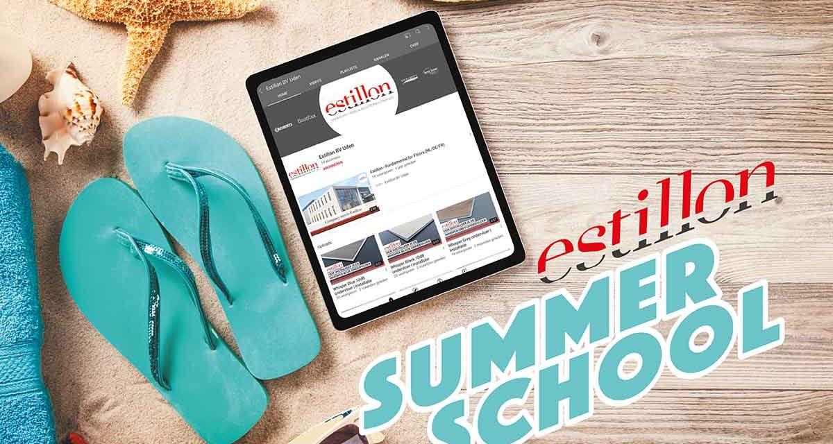 Estillon Summer School voor het bijhouden van kennis