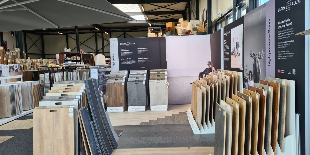 BerryAlloc pakt uit met negen nieuwe brand corners in Nederland
