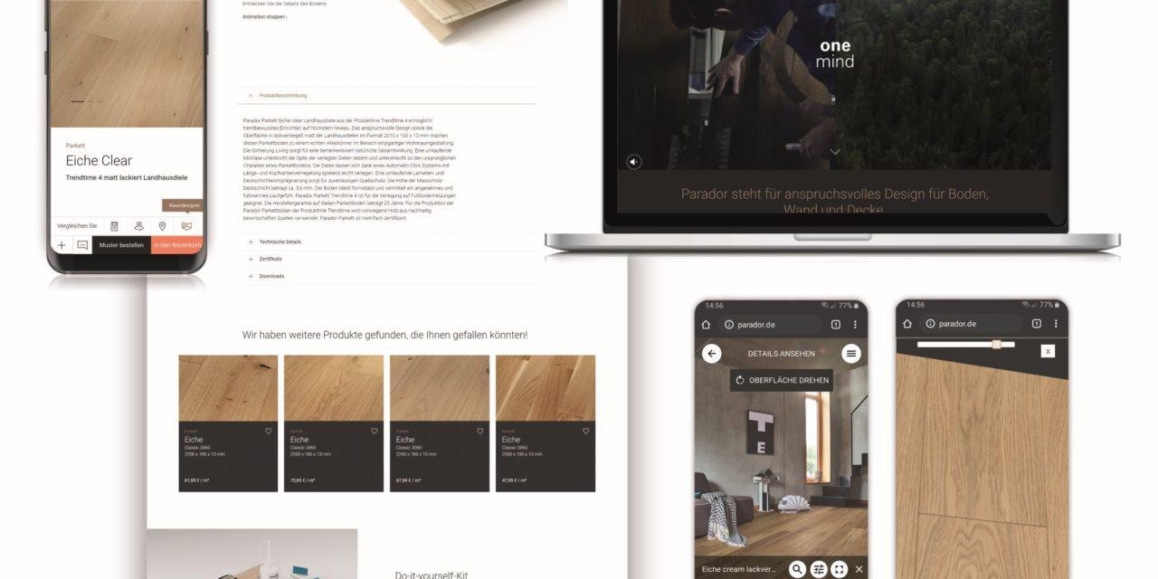 Parador Online Brand Store bekroond met prijs