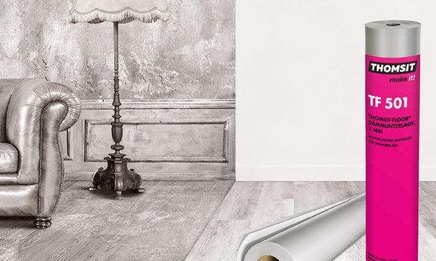 Nieuw: Thomsit TF 501 voor LVT en designvloeren